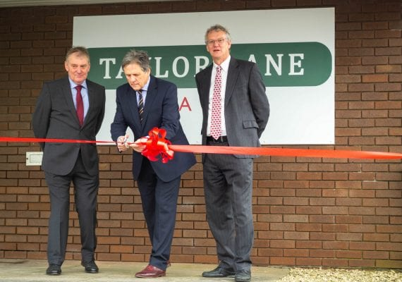 Taylor Lane Wales Opening Ceremony in Nantyglo - Barrie Lane, Bryn Williams & Colin Taylor